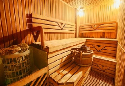 Finnish Sauna with Bucket