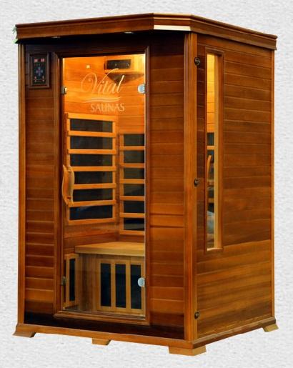 Vital Health Saunas 2 person Elite