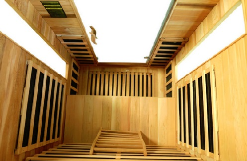 VItal Health Saunas 2 person overhead