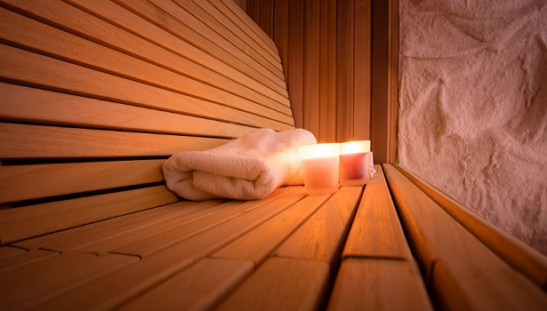 Salt Therapy in Sauna