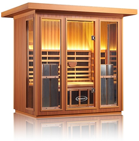 Jacuzzi Clearlight Sanctuary Outdoor 5 Outdoor Sauna