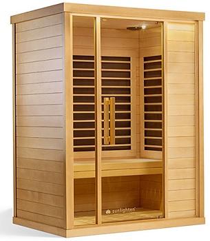 Healing Heat Therapy Sunlighten Basswood Best Wood for Sauna
